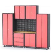 Комплект металлической гаражной мебели 9 пр. ROCK FORCE (RF-01462)