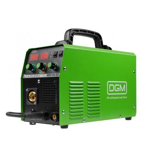Полуавтомат сварочный (220В; MIG/MAG/FLUX/MMA; евроразъем; смена полярности) DGM (DUOMIG-253E)