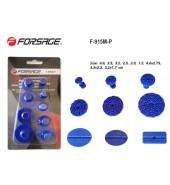 Набор адаптеров пластиковых для беспокрасочного удаления вмятин 9пр.,в блистере FORSAGE (F-915M-P)
