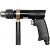 Пневмодрель пистолетная (патрон до 10мм, 700 об/мин) YATO (YT-09702)