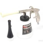"""Пистолет пневматический """"Tornado""""  для химчистки салона а/м с емкостью 1л и сменной щеткой-насадкой FORSAGE (F-203812)"""