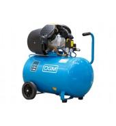 Компрессор (440 л/мин, 8 атм, коаксиальный, масляный, ресив. 100 л, 220 В, 2.20 кВт) DGM (AC-210)