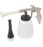 """Пистолет пневматический """"Tornado""""  для химчистки салона а/м с емкостью 1л и сменной щеткой-насадкой ROCK FORCE (RF-203812)"""