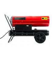 Тепловая дизельная пушка  (15 КВт, колеса, термостат)  РЕСАНТА (ТДП-15000)
