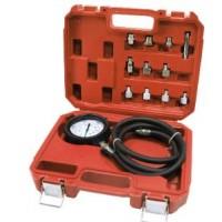 Тестер давления масла в комплекте с резьбовыми адаптерами переходниками 12пр., в кейсе FORSAGE (F-912G02)