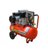 Компрессор (396 л/мин, 10 атм, ременной, масляный, ресив. 50 л, 220 В, 2.20 кВт) HDC (HD-A051)