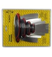 Набор шпателей металлических,4пр. PARTNER (PA-HN7075)