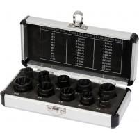 """Набор головок экстракторов для поврежденных болтов 3/8"""" (набор 10пр.) YATO (YT-06031)"""